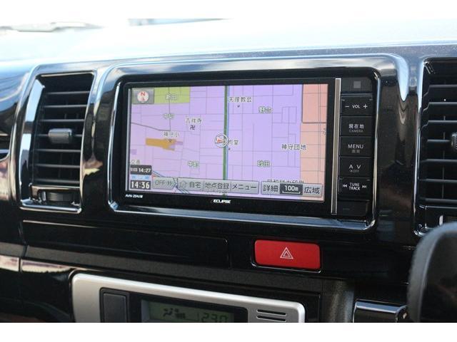 スーパーGL ダークプライムII AC100V電源 両側スライドドア ミュージックサーバー付きナビ地デジ ハーフレザーシート バックカメラ 小窓付き ディーゼルターボ 新車 6型(2枚目)