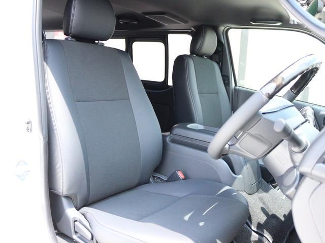 スーパーGL ダークプライムII AC100V電源 両側スライドドア ミュージックサーバー付きナビ地デジ ハーフレザーシート バックカメラ 小窓付き ディーゼルターボ 新車 6型(14枚目)