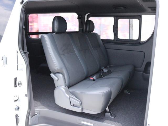 スーパーGL ダークプライムII AC100V電源 両側スライドドア ミュージックサーバー付きナビ地デジ ハーフレザーシート バックカメラ 小窓付き ディーゼルターボ 新車 6型(27枚目)