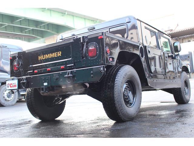 ハマー ハマー H1 5.7Lガソリン車 4ドアピックアップ 8ナンバー登録
