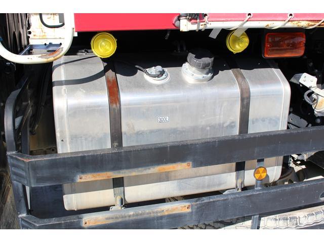 三菱ふそう スーパーグレート ダンプ フロントメッキ 電動コボレーン HID ETC