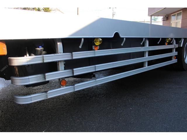 重機運搬車 4段クレーン ウインチ アウトリガー(10枚目)