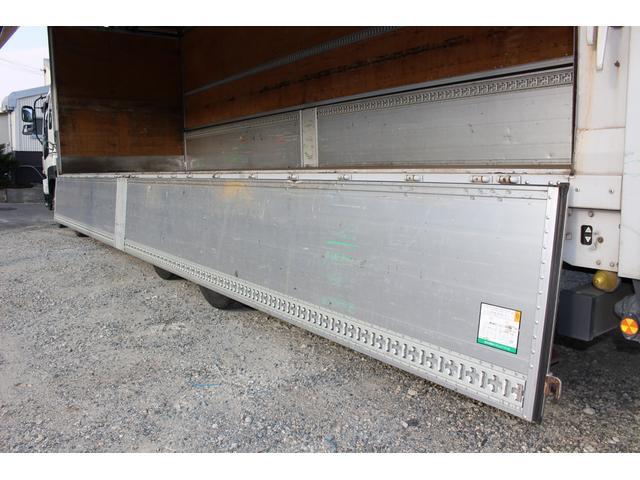 4軸低床ウイング 積載13.8t バックアイモニター ETC(13枚目)