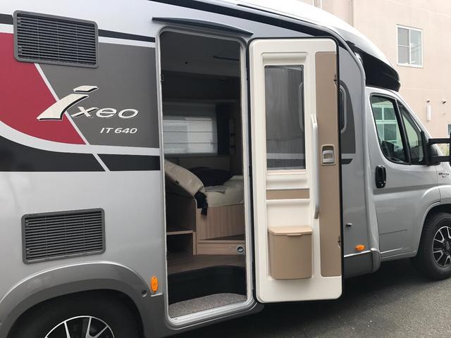 バーストナー イクセオ IT640 3人就寝可能キャンピングカー