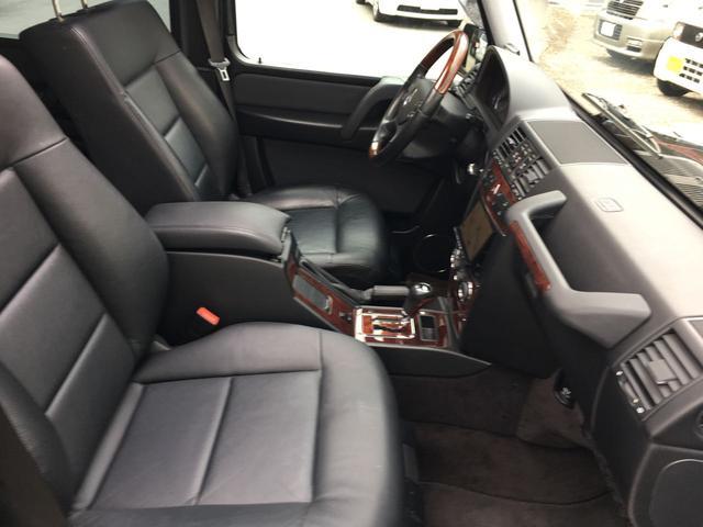 メルセデス・ベンツ M・ベンツ G550ロング AMG仕様 黒革シート ストラーダHDD