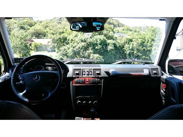 G500 ロング 正規ディーラー車 ワンオーナー SDナビ(9枚目)
