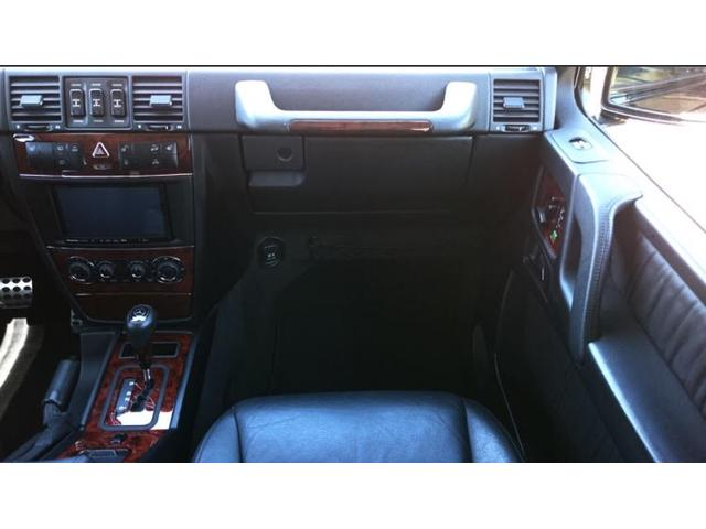 G500 ロング 正規ディーラー車 ワンオーナー SDナビ(13枚目)