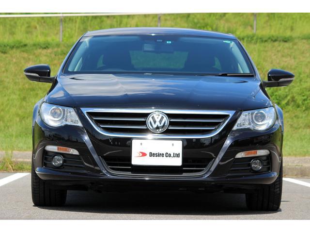 フォルクスワーゲン VW パサートCC V6 4モーション 6速DSG ナパレザー DCC 保証付