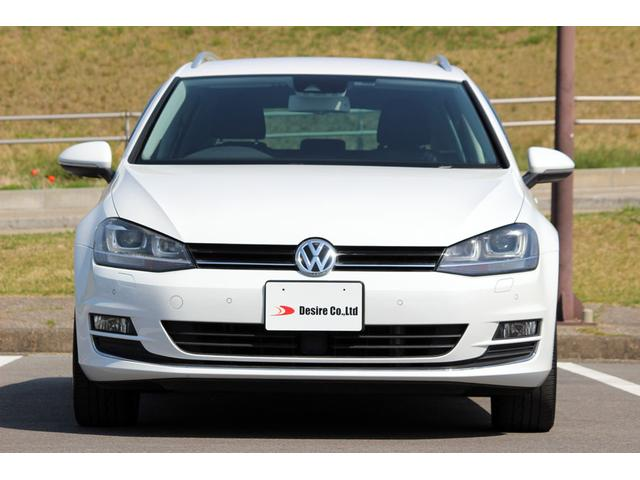 フォルクスワーゲン VW ゴルフヴァリアント TSIハイライン ディスプロ ACC スマートキー 保証付