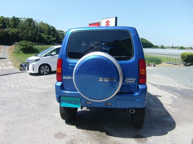 クロスアドベンチャーXC 新品リフトアップキット 偏心ブッシュ スタビ延長 ジオランダー新品タイヤ MRS製マフラー フルセグナビ LEDヘッド LEDフォグ キーレス(6枚目)