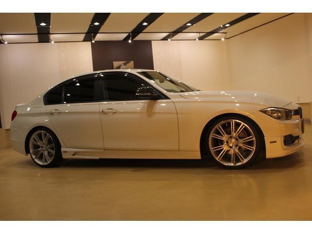 BMW BMW 320i エアロ ローダウン NICHE19AW HDDナビ