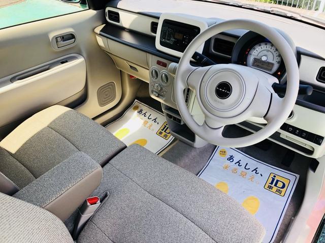 スズキ アルトラパン L 自動ブレーキ プッシュスタート 届出済未使用者車