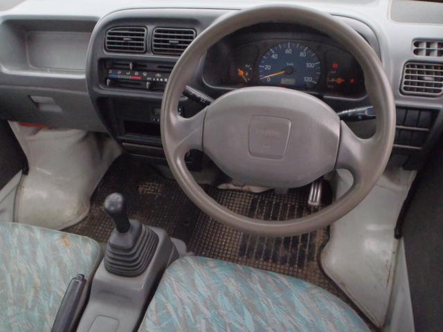 スズキ キャリイトラック 5速MT エアコン パワステ 運転席エアバッグ