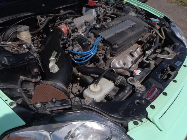 ホンダ シビッククーペ USDM B16A 5速MT サンルーフ 車高調 無限