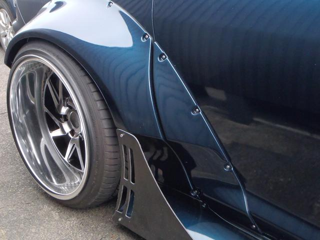 タイプS 6速MT オリジナルマフラー Megan車高調 pandemボディキット(15枚目)