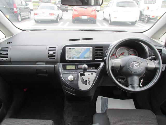 トヨタ ウィッシュ XエアロスポーツPKG 1年保証付 ナビ 1オーナー HID