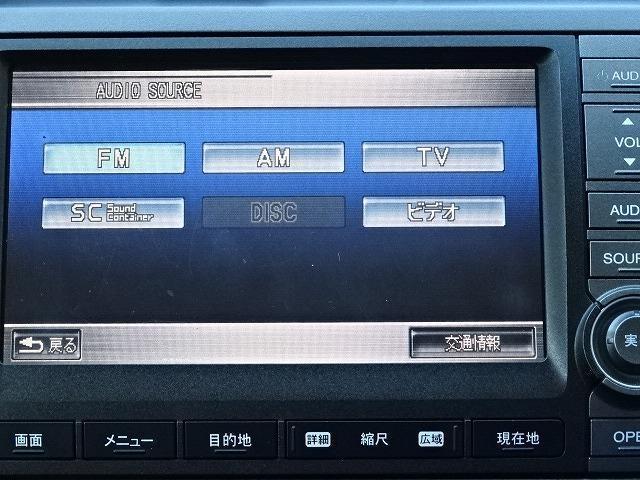 ホンダ ストリーム RSZ Bカメラ付HDDナビ ワンオーナー 禁煙車 ETC