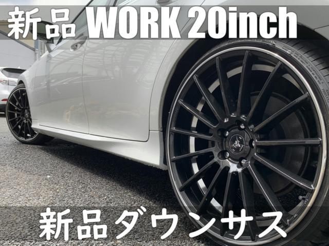 250/Ipkg/GS-F仕様/WORK20インチ/ローサス(19枚目)