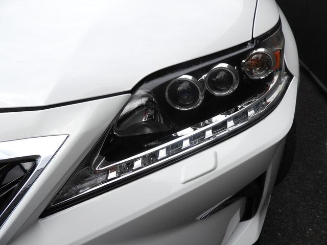 RX450h バージョンL モデリスタエアロ/20系Fスポーツ仕様スポイラー/LX TRD仕様スピンドルグリル/LED三眼ヘッドライト/新品22インチホイール&タイヤ/ダウンサス/茶革シートPハッチ/Pシート/サイドカメラ(10枚目)