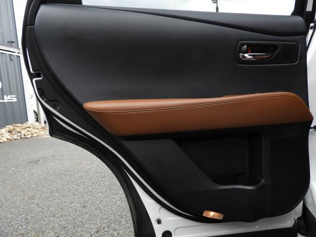 RX450h バージョンL モデリスタエアロ/20系Fスポーツ仕様スポイラー/LX TRD仕様スピンドルグリル/LED三眼ヘッドライト/新品22インチホイール&タイヤ/ダウンサス/茶革シートPハッチ/Pシート/サイドカメラ(40枚目)