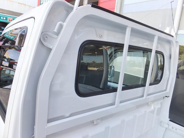 KCエアコン・パワステ エアコン・パワステ・ドアバイザー・フロアマット・荷台マット・ゲートプロテクター・鳥居プロテクター・エアバック・5MT車(6枚目)