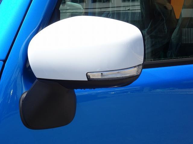ハイブリッドX 届出済未使用車 スズキ セーフティサポート搭載 LEDヘッドライト デニムブルー内装(8枚目)