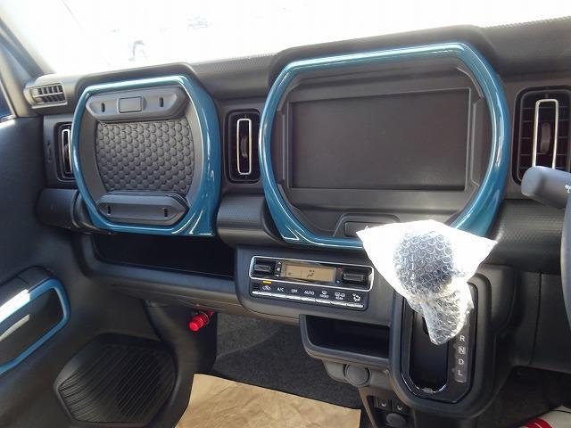 ハイブリッドX 届出済未使用車 スズキ セーフティサポート搭載 LEDヘッドライト デニムブルー内装(17枚目)