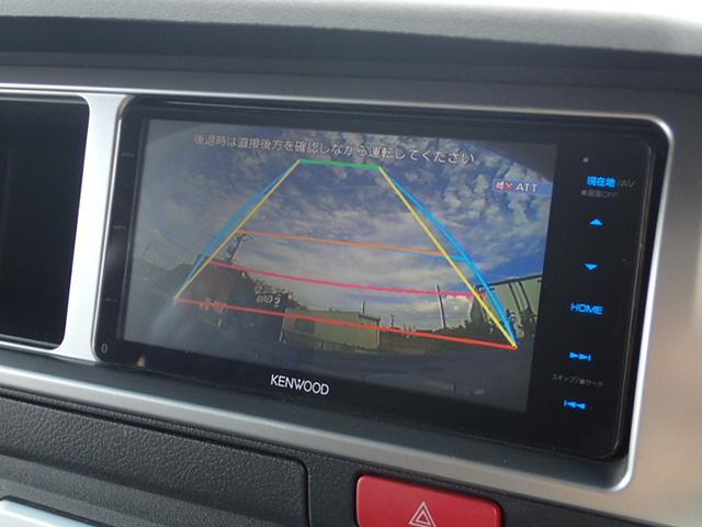 SD地デジナビ/Bカメラ/ステアリングリモコン/AC100V電源/ETC/パワースライドドア/レザー調シートカバ-/18inアルミ/DVD視聴可/コーナーセンサー/Wエアバック