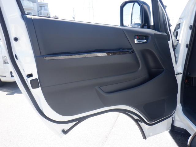スーパーGL ダークプライムII 新車未登録/Valenti LEDヘッド/モデリスタエアロ/ESSEX 17inAW/パノラミックビューM/デジタルインナーM/両側パワースライド/トヨタセーフティーセンス/AC100V電源(45枚目)