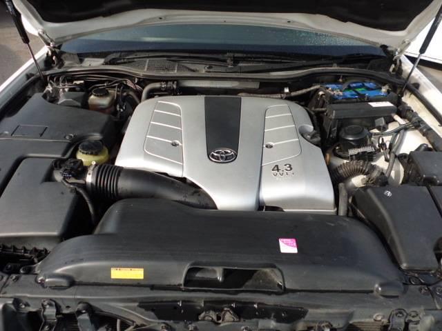 トヨタ セルシオ C仕様 後期 黒革シート エアシート 20AW ローダウン