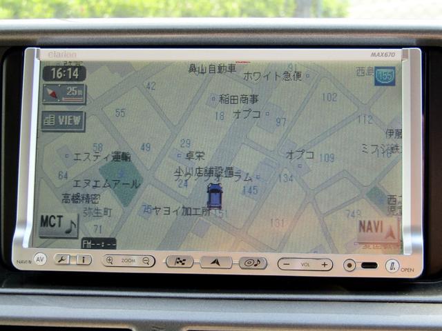 100G レザーパッケージ HDDナビ スマートキー ETC(3枚目)