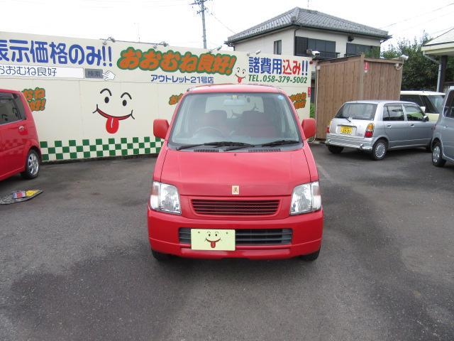 スズキ ワゴンR ミキハウス限定車 スペシャル内装 専用CD キーレス ABS