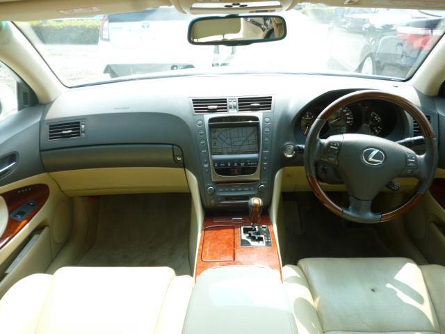 レクサス GS クレンツエ19インチAW 車高調 革シート サンルーフ
