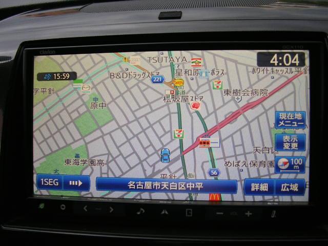 HDDナビです。ドライブがよりいっそう楽しくなりますね(^-^)♪