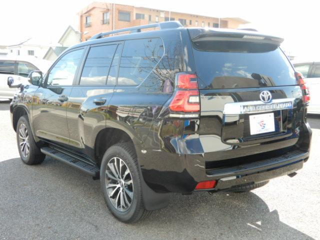 トヨタ ランドクルーザープラド TX Lパッケージ 黒革 サンルーフ 7人 19inアルミ
