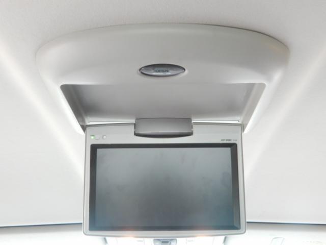 トヨタ アルファード 240S HDDTV カメラ フリップダウン 両側電動