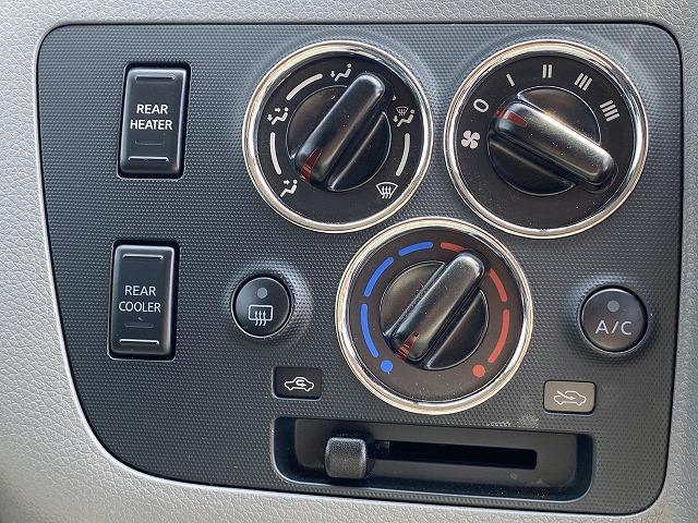 ロングプレミアムGXクロムギアパックバージョンブラク 純正SDナビTV バックカメラ ETC インテリキー プッシュスタート 両側スライドドア リアクーラー・リアヒーター HIDヘッド カプロンシート 純正15インチAW(39枚目)