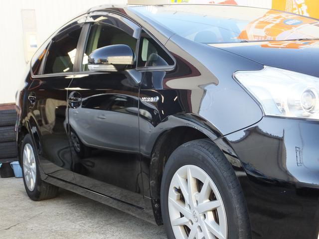 トヨタ プリウスアルファ S カロッツェリアナビフルセグTV ETC 無料1年保証付