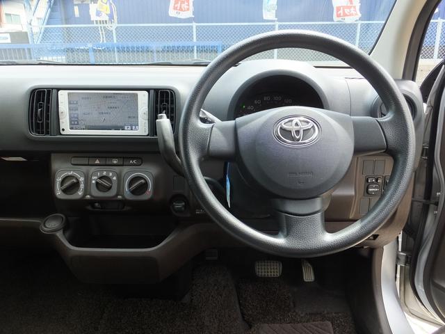 トヨタ パッソ X クツロギ ヨーロピアンP 純正SDナビ 無料1年保証付