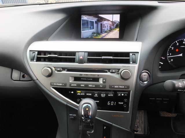 レクサス RX RX270 HDDナビ Bカメラ 地デジTV1年保証付き