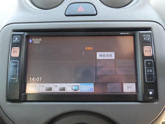 日産 マーチ 12X Bluetooth対応ナビ ETC 無料保証付