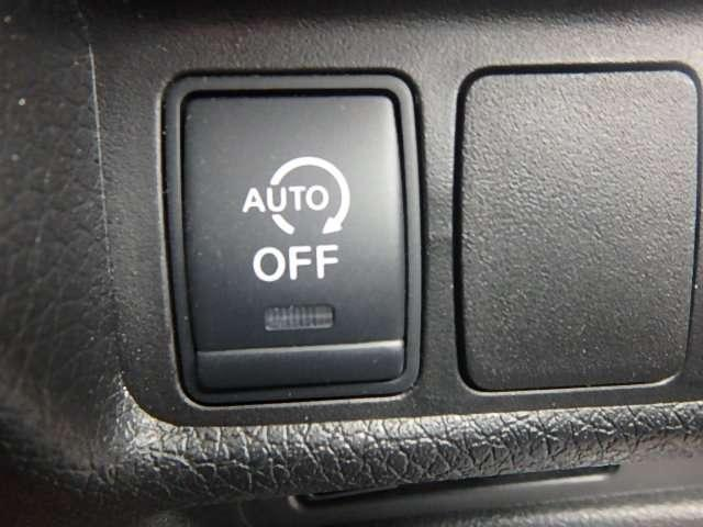 アイドリングストップ機能付!信号待ちなどの停車時に、エンジンをストップさせることでガソリン消費をセーブします。