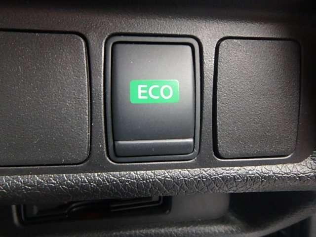 ECOモード:燃費の良いアクセル操作(ふんわりアクセル)に近づくように、ドライバーのアクセル操作をアシストします。