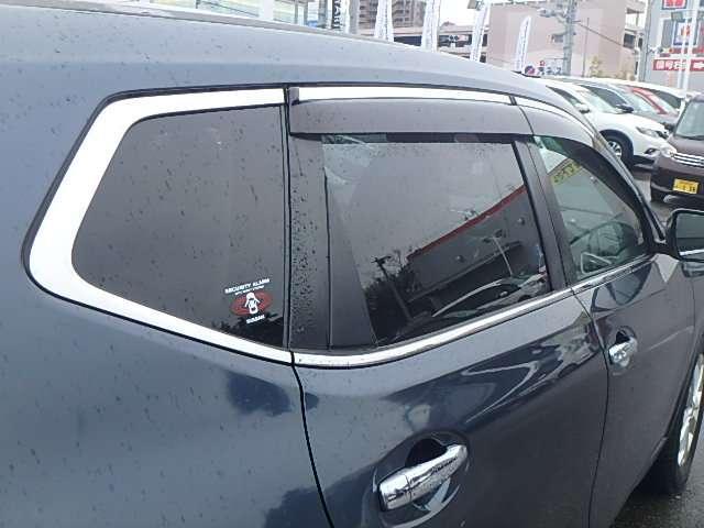 プライバシーガラス:プライバシーを保護し、紫外線からも守ることができます。