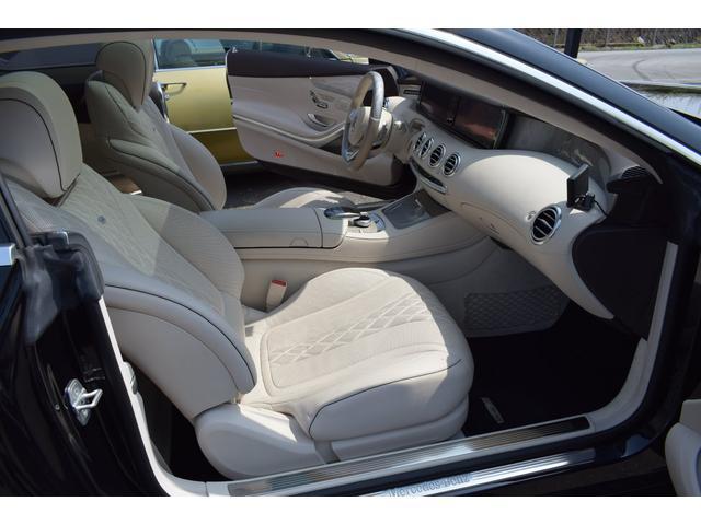 S550 4マチック クーペ AMGライン 白革(4枚目)