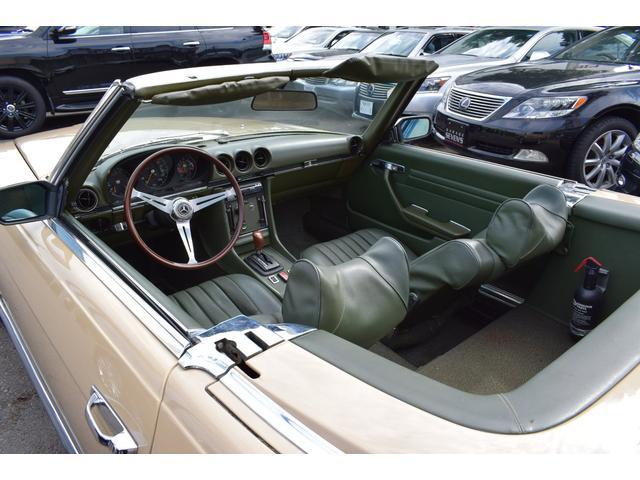 450SL ウエスタン自動車物 新品ソフトトップ(22枚目)