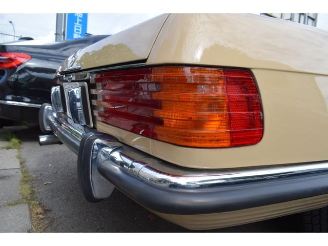 450SL ウエスタン自動車物 新品ソフトトップ(26枚目)