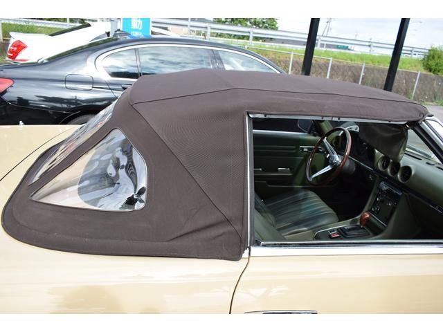 450SL ウエスタン自動車物 新品ソフトトップ(28枚目)