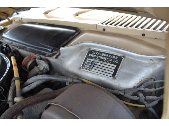 450SL ウエスタン自動車物 新品ソフトトップ(33枚目)