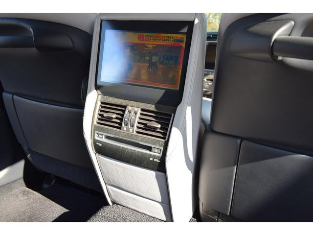 LS600hL エアサス4本交換済み リアエンターテイメント 白革シート HDD地デジフルセグ ロングボディー マークレビンソン 3面サンシェード(16枚目)